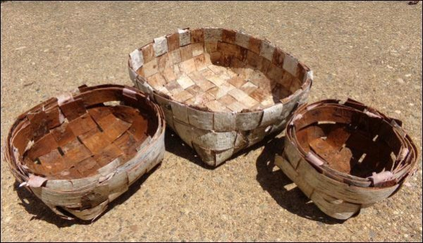 make a birch basket