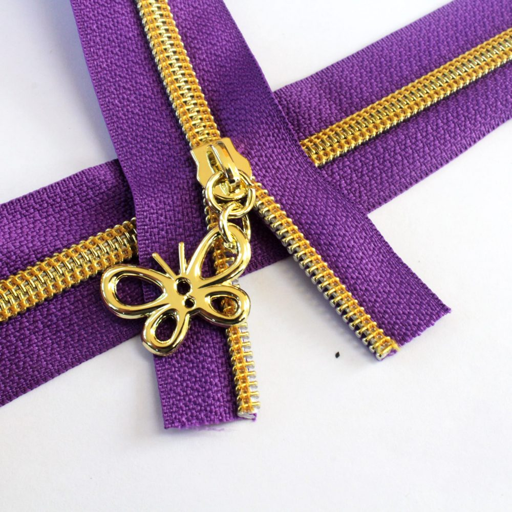 5-Nylon-Coil-Zipper-purple-with-gold-teeth