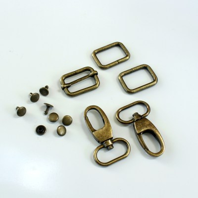 1 Adjustable Strap Kit - Antique Bronze
