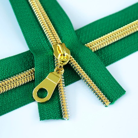 5-Nylon-Coil-Zipper-green-with-gold-teeth