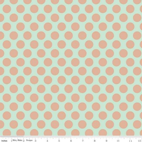 Glam Girl Panel Dots Mint Sparkle