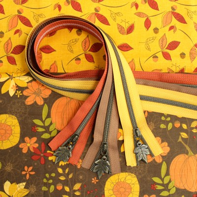 Give Thanks Fabric & Zipper Bundle