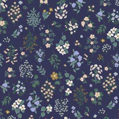 Strawberry Fields - Hawthorne - Navy Fabric