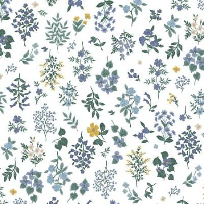 Strawberry Fields - Hawthorne - Periwinkle Fabric