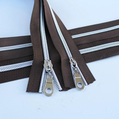 Chocolate Brown-Silver Kit