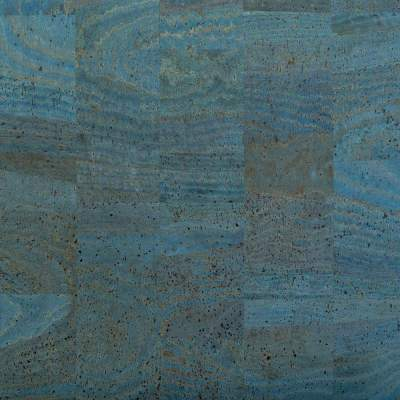 Cork Fabric – Blue