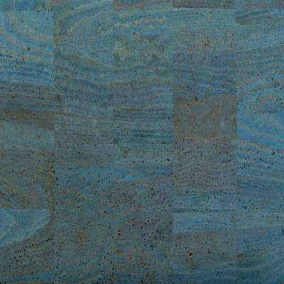 Cork Fabric – Blue