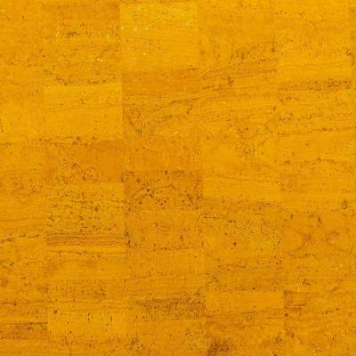 Cork Fabric – Golden Yellow