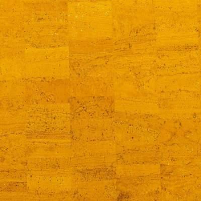 Cork Fabric – Golden Yellow