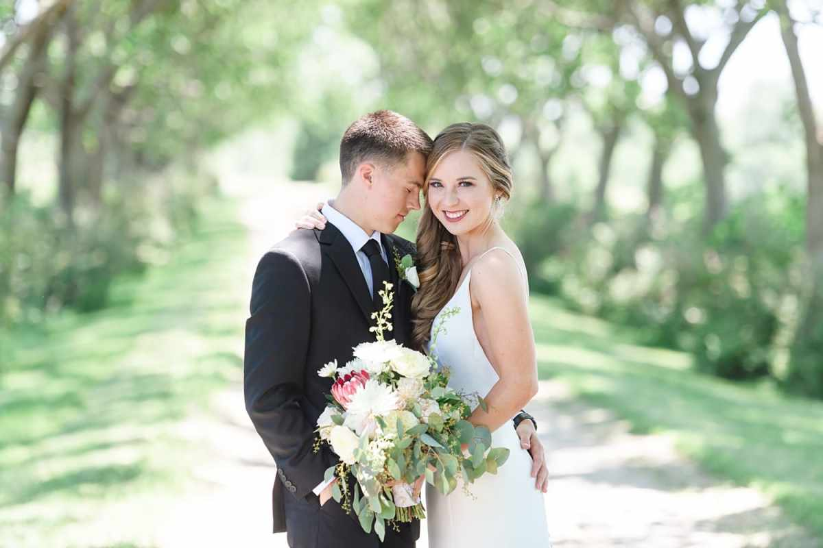 Sugar grove vineyard in Newton Iowa wedding day