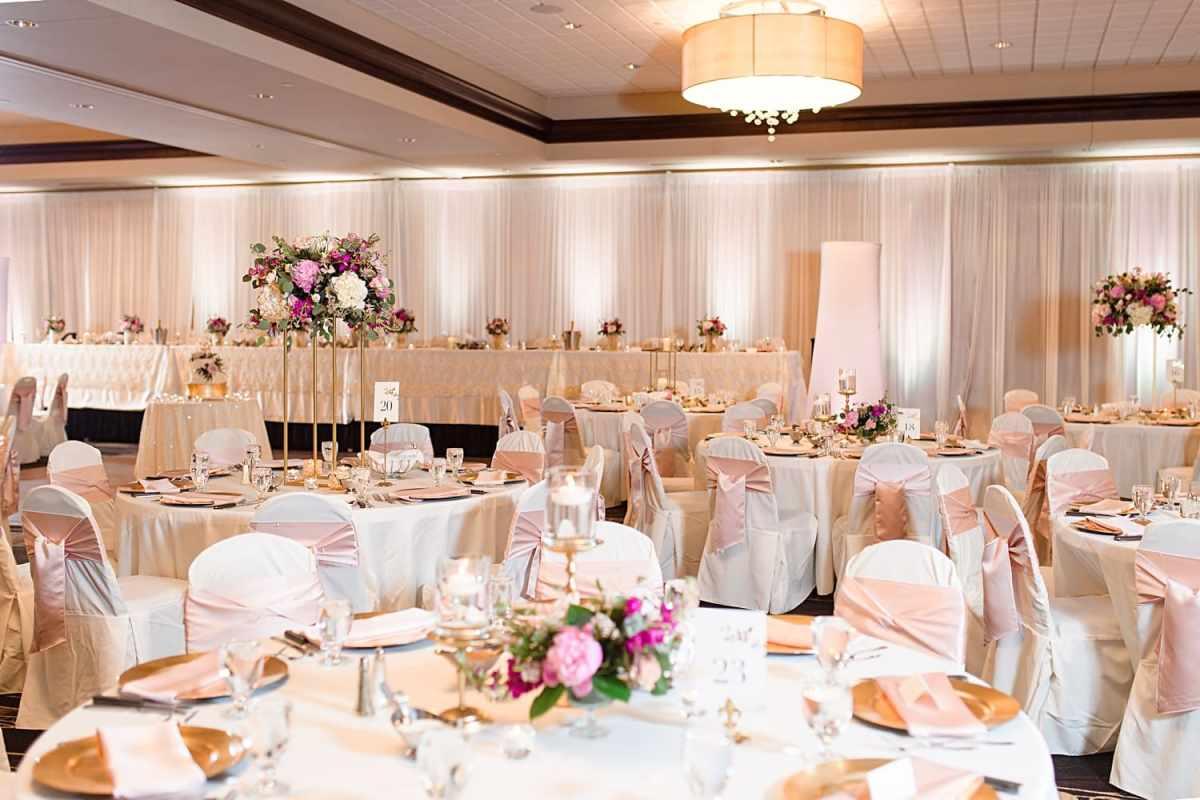 hilton west des Moines ballroom wedding