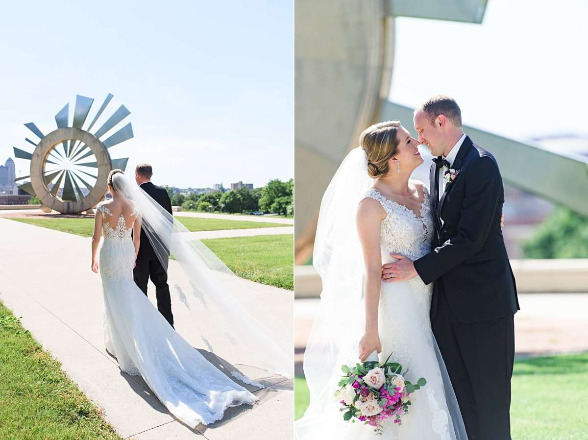 des moines shattering silence wedding