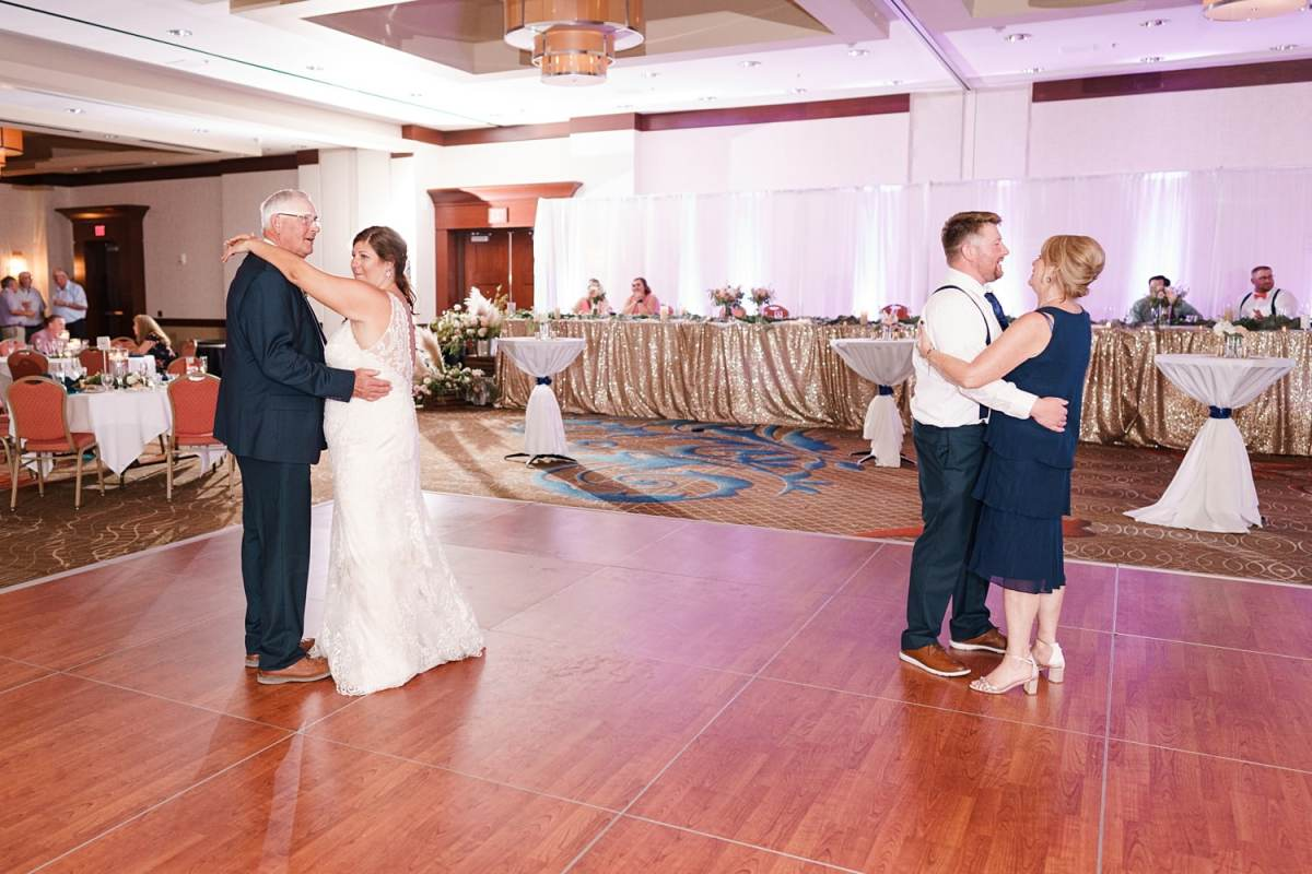 father daughter and mother son first dance