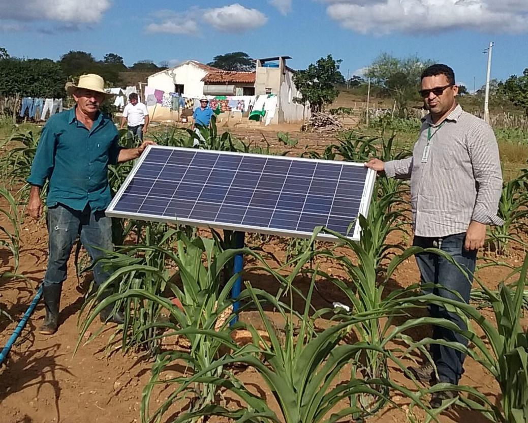Energia solar melhora qualidade de vida de agricultores na Paraíba