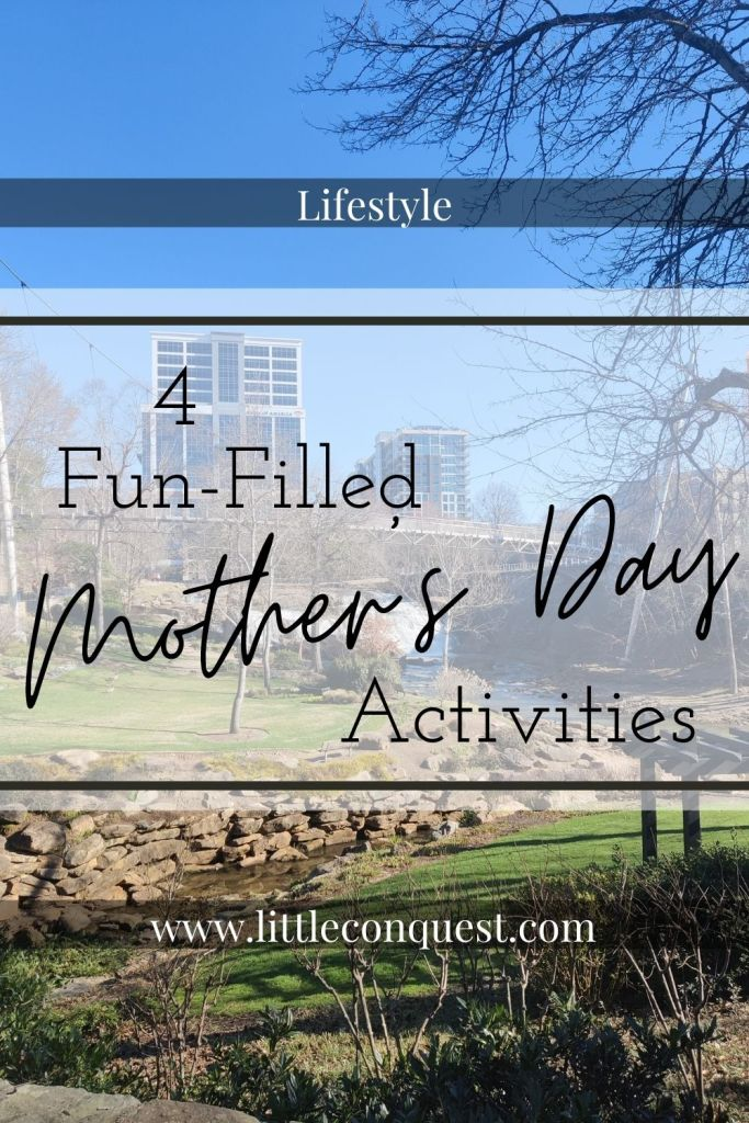 lifestyle, holiday, mothers day, activities, things to do, fun, DIY outdoor movie night, DIY paint party, tourist, tour your town, beach trip, what to do on mother's day, little conquest