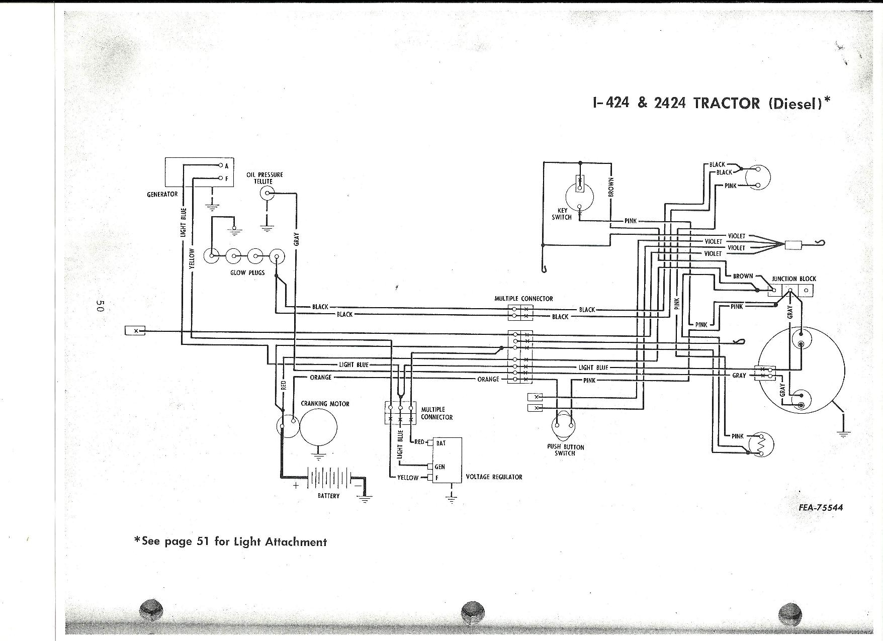 International 444 Wiring Diagram