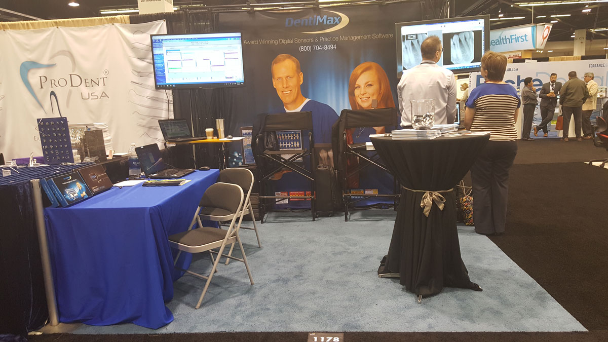 DentiMax Booth at the CDA 2017