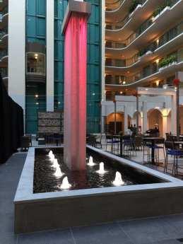 Mesh Waterfall at Embassy Suites Miami 8 2