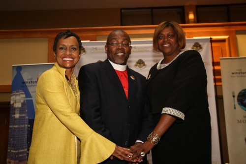 "Judge Glenda Hatchett; Bishop Neil Ellis; Ambassador Suzan ""Sujay"" Johnson Cool Following GUF Press Conference"
