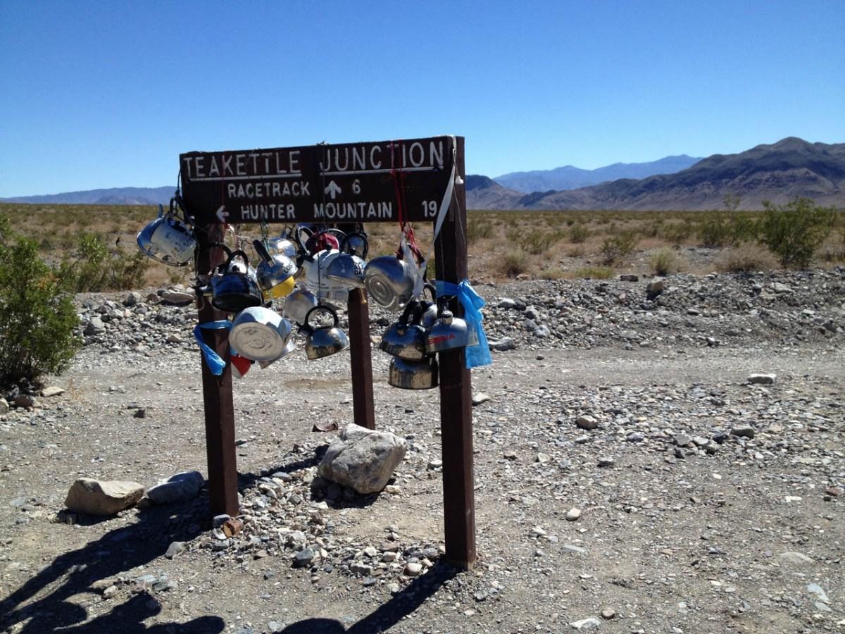 Death Valley California Racetrack Playa Racing Rocks Teakettle Junction