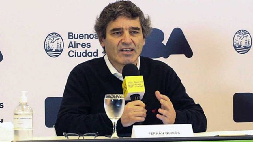 Fernán Quirós, half of the coronavirus cases are asymptomatic in the City of Buenos Aires