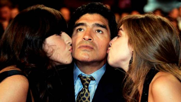Dalma and Yanina are two of the five children who will inherit Maradona's fortune