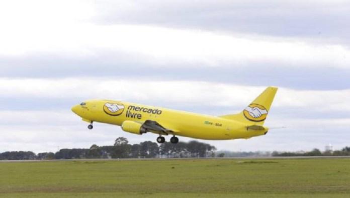 The Mercado Libre plane in Brazil
