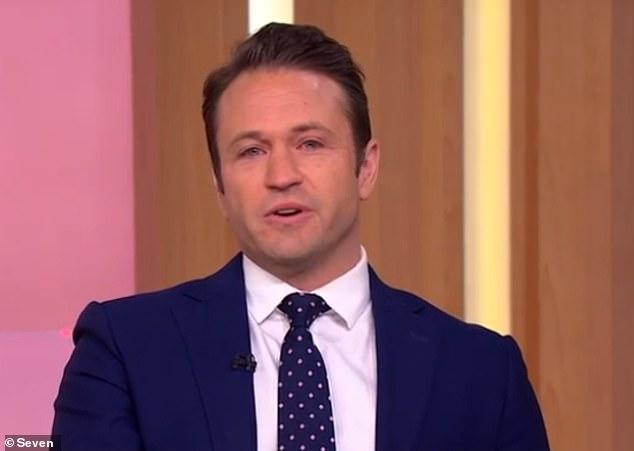 'No dormí durante unos días': el presentador de Weekend Sunrise, Matt Doran, reveló cómo 'siguió estropeando' su propuesta para su prometida Kendall Bora