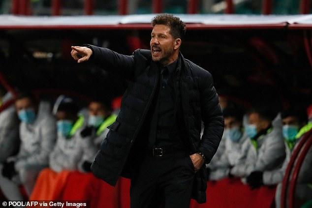 El técnico del Atlético de Madrid, Diego Simeone, ha apoyado a su equipo para recuperarse tras la derrota de Cornella