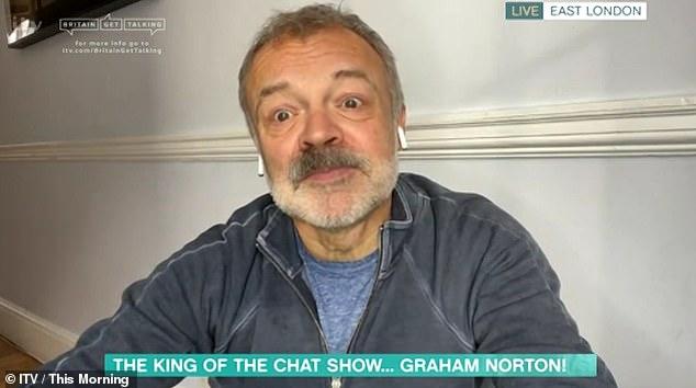 Sin resentimientos: Graham Norton ha dejado en claro que no estaba molesto ni ofendido por el falso par de Alison Hammond el viernes en This Morning, cuando le preguntó cómo estaba su perro, a pesar de que había fallecido.