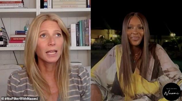 'Tendría que estar jodiendo al escritor': Gwyneth Paltrow le dijo a Naomi Campbell que solo volvería a actuar si su esposo Brad Falchuk escribía el guión
