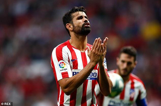 Diego Costa no se mudará a Marsella después de que su entrenador, Andre Villas-Boas, admitiera que el club no podía pagar sus £ 270,000 por semana.