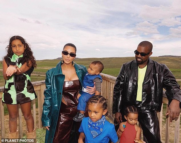 Trato silencioso: Según los informes, Kim ya no está en contacto con su esposo Kanye West;  visto en Wyoming en 2020