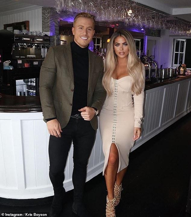 Por todas partes: Bianca Gascoigne y Kris Boyson han terminado su relación de 11 meses, poco más de un mes después de insinuar un posible compromiso.