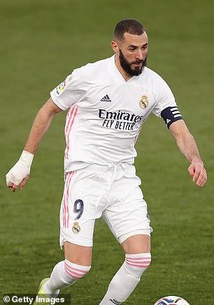Karim Benzema ha vuelto recientemente a los entrenamientos, pero el Real Madrid espera poder alinearlo