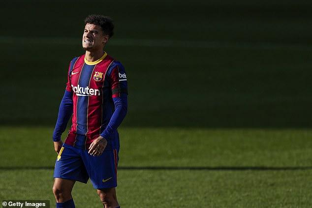 El Everton está preparando una oferta de £ 35 millones por el Barcelona Philippe Coutinho, según los informes