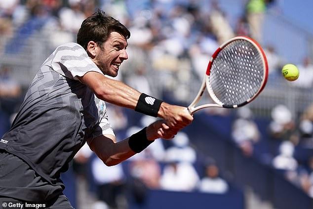 Cam Norrie (en la foto del Barcelona Open) no logró ganar su primer título ATP Tour en Portugal