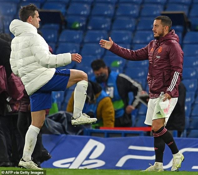 Los aficionados del Real Madrid estaban furiosos por la reacción de Eden Hazard ante la derrota del Real Madrid el miércoles