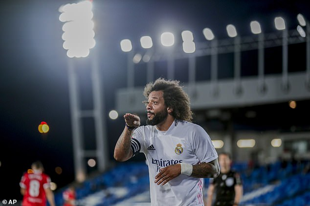 Marcelo no jugará en el Real Madrid ante el Granada tras ser expulsado de la convocatoria