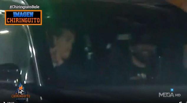 Gareth Bale fue filmado en España el domingo por la noche, horas después de jugar en el Tottenham