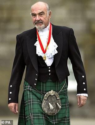 Sir Sean Connery se mostró reacio a participar en la campaña a favor de la devolución escocesa si eso le permitía pagar impuestos más altos.