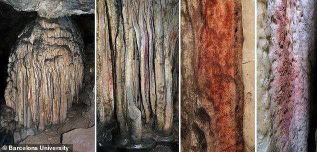 Las pinturas rupestres dibujadas por los neandertales de puntos, escaleras, animales y manos girando muestran que nuestros primos lejanos eran más artísticos de lo que se pensaba, afirman los investigadores.