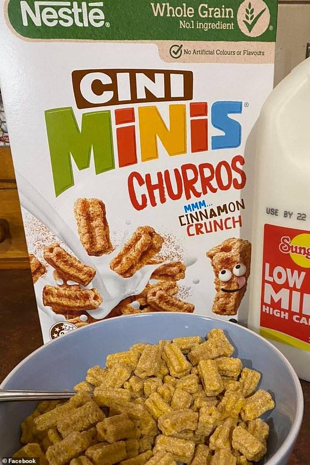 Los compradores ahora pueden disfrutar del desayuno con un tazón de mini churros con sabor a canela