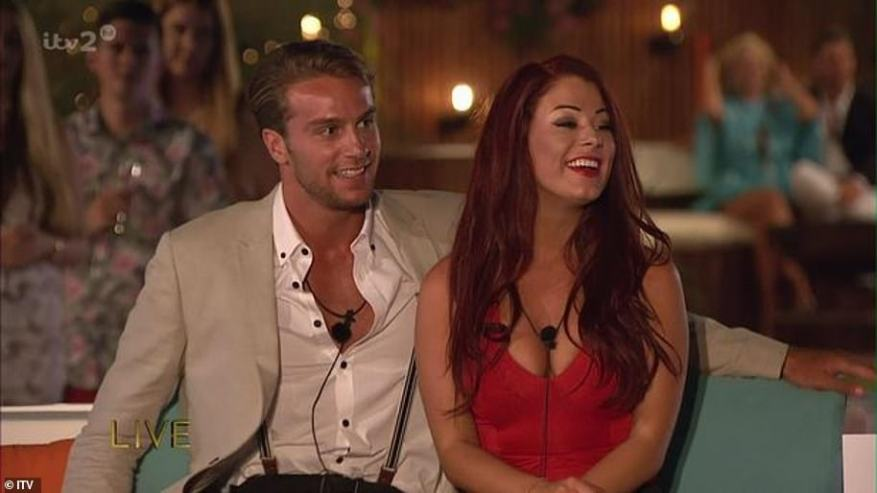 First winners:Jessica Hayes and Max Morley scooped the title as the series one winners in 2015