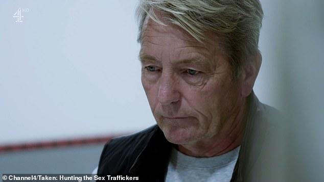 Los espectadores de Taken: Hunting the Sex Traffickers han criticado la 'indulgente' sentencia de cinco años impuesta al jefe de un grupo del crimen organizado (en la foto, Mark Viner) que ganaba hasta £ 1.3 millones al año.