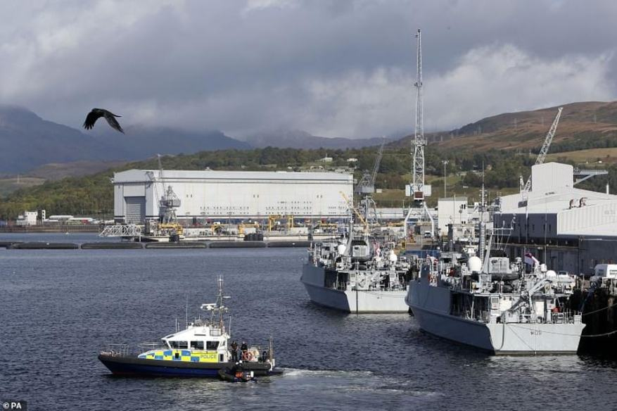 The SNP have warned the British Government that they will reject any attempt to keep Britain's nuclear submarines north of the border in the event of an independence vote. The Royal Navy's HMNB Clyde base at Faslane in Western Scotland
