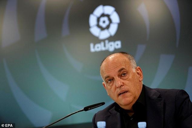 El PSG ha respondido a Javier Tebas por su perorata pública contra el club francés por su gasto