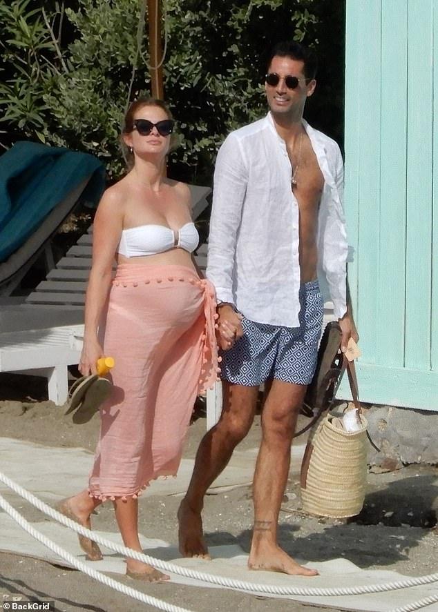 Millie Mackintosh, estrella de Made in Chelsea, embarazada ¿que tiene una hija de 16 meses, Sienna¿, decidió que también necesita una antes de la llegada de su segundo bebé