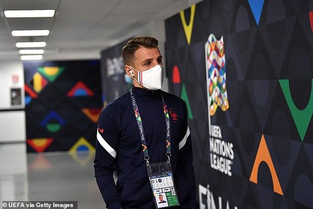 Lucas Digne no participará en la final de la Nations League del domingo contra España