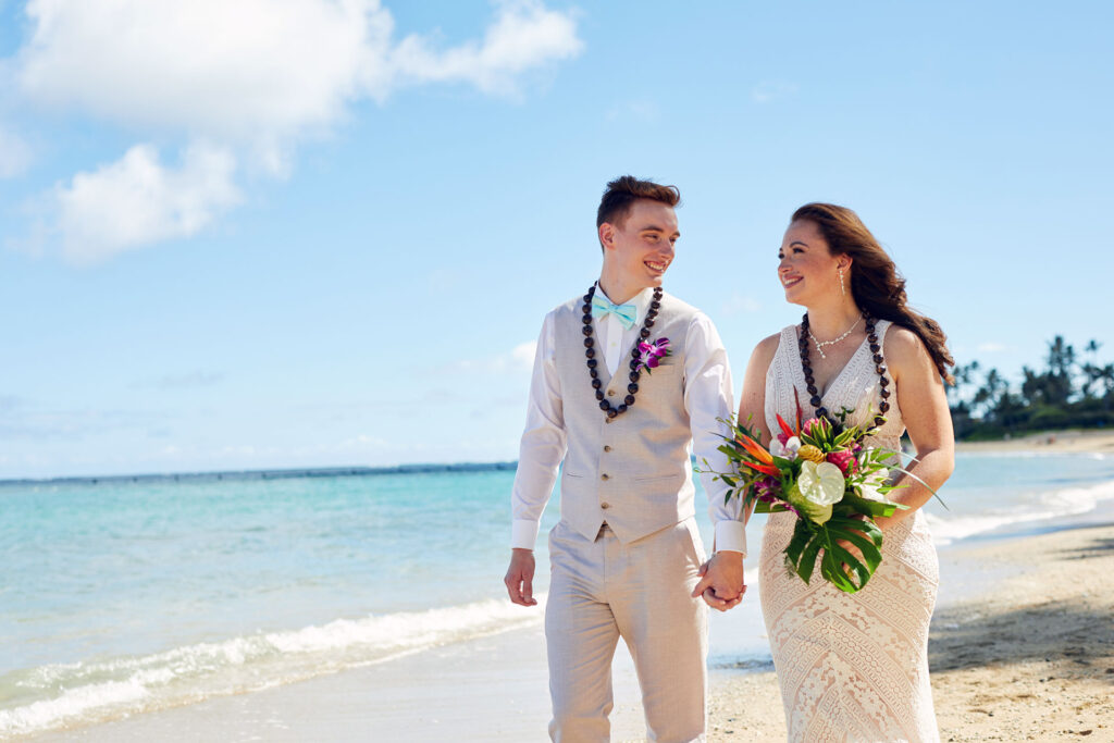 Hawaii Beach Weddings Kahala Beach